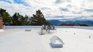 commercial roofing Replacement Duro Last roof